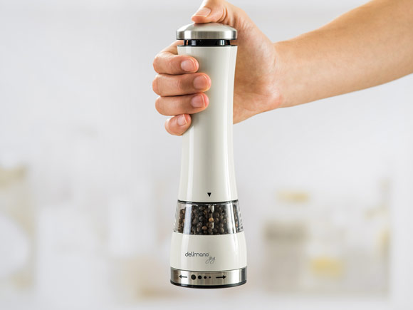 Delimano Joy Electrical Salt Or Pepper Mill